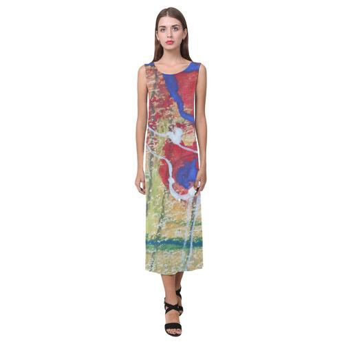 Sxisma Fashion Phaedra Collection-18 Phaedra Sleeveless Open Fork Long Dress (Model D08)