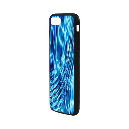 """Liquid Blue Rubber Case for iPhone 7 plus (5.5"""")"""