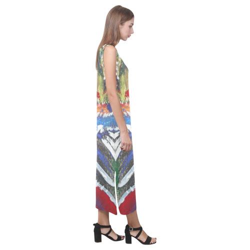 Sxisma Fashion Phaedra Collection-19 Phaedra Sleeveless Open Fork Long Dress (Model D08)