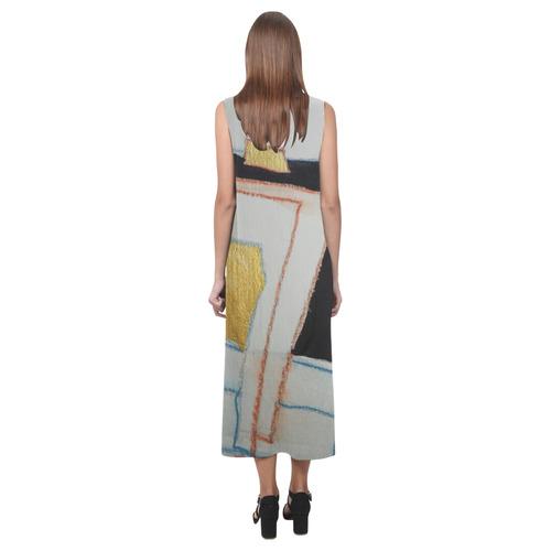 Sxisma Fashion Phaedra Collection-2 Phaedra Sleeveless Open Fork Long Dress (Model D08)