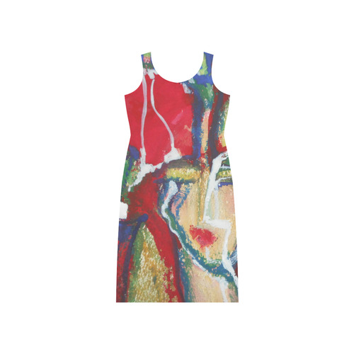 Sxisma Fashion Phaedra Collection-17 Phaedra Sleeveless Open Fork Long Dress (Model D08)