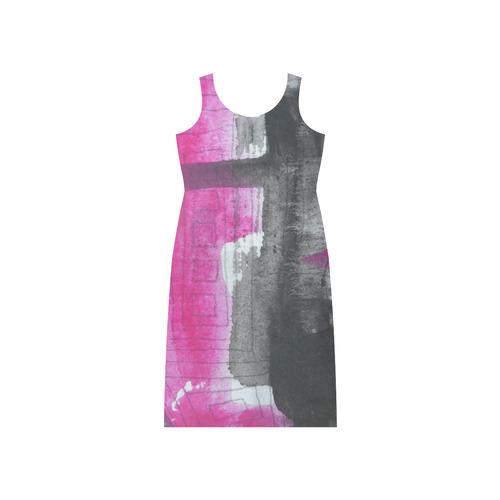 Sxisma Fashion Phaedra Collection-11 Phaedra Sleeveless Open Fork Long Dress (Model D08)