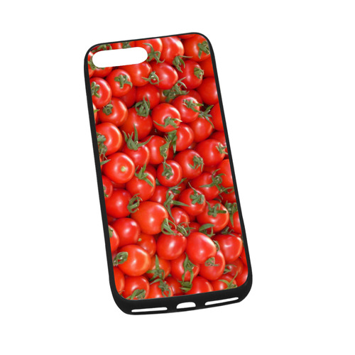 """Red Tomatoes Rubber Case for iPhone 7 plus (5.5"""")"""