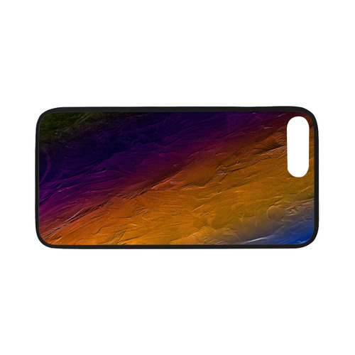 "Sunset Painters Palette Rubber Case for iPhone 7 plus (5.5"")"