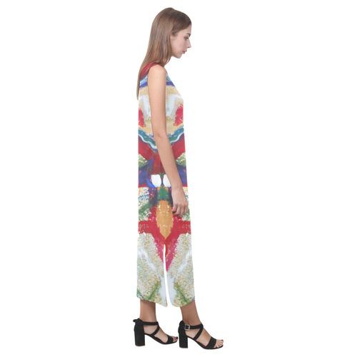 Sxisma Fashion Phaedra Collection-15 Phaedra Sleeveless Open Fork Long Dress (Model D08)