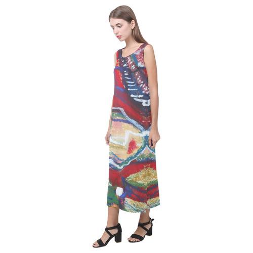 Sxisma Fashion Phaedra Collection-14 Phaedra Sleeveless Open Fork Long Dress (Model D08)