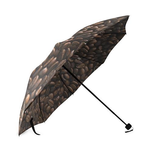 Roasted Coffee Beans Foldable Umbrella