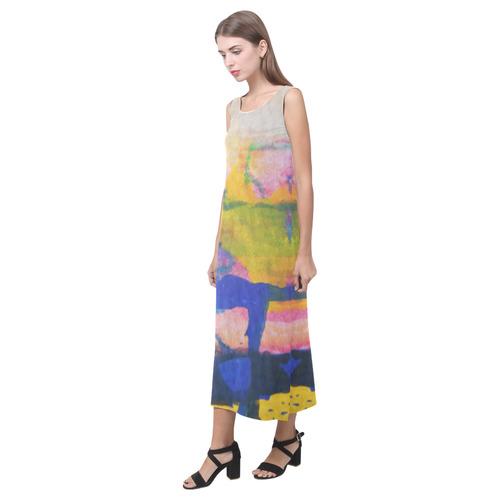 Sxisma Fashion Phaedra Collection-13 Phaedra Sleeveless Open Fork Long Dress (Model D08)