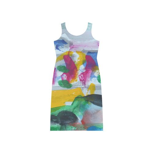 Sxisma Fashion Phaedra Collection-12 Phaedra Sleeveless Open Fork Long Dress (Model D08)