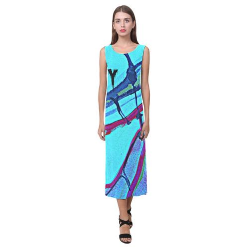Sxisma Fashion Phaedra Collection-1 Phaedra Sleeveless Open Fork Long Dress (Model D08)