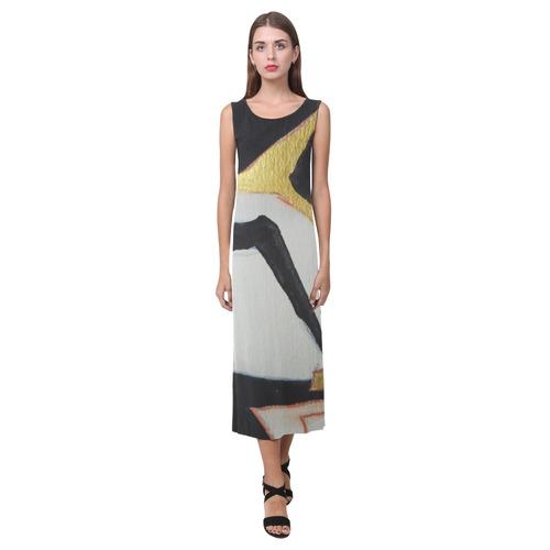 Sxisma Fashion Phaedra Collection-3 Phaedra Sleeveless Open Fork Long Dress (Model D08)