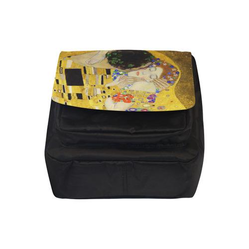 The Kiss Gustav Klimt Fine Art Crossbody Nylon Bags (Model 1633)