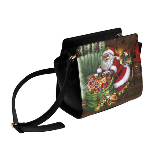 Santa Claus brings the gifts to you Satchel Bag (Model 1635)