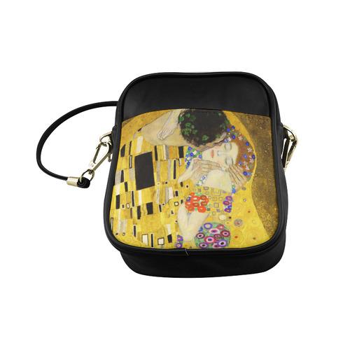 The Kiss Gustav Klimt Fine Art Sling Bag (Model 1627)