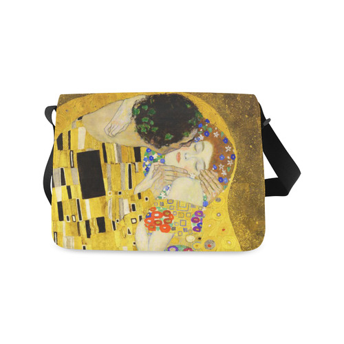 The Kiss Gustav Klimt Fine Art Messenger Bag (Model 1628)