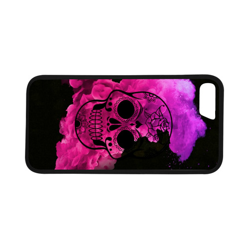 """smoky skull C Rubber Case for iPhone 7 (4.7"""")"""