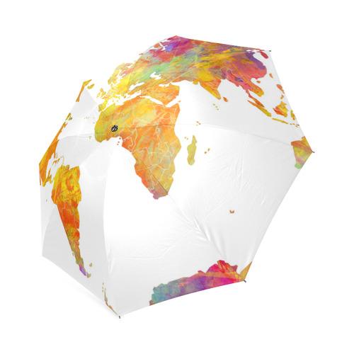 world map Foldable Umbrella