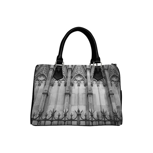 Iron and Stone Boston Handbag (Model 1621)