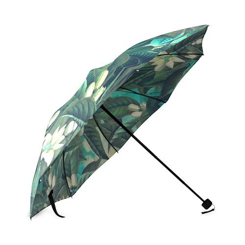 flowers Foldable Umbrella (Model U01)