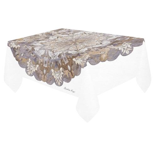 "maagal hanouka 10 Cotton Linen Tablecloth 60""x 84"""