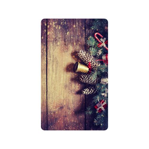 "Christmas Santa Doormat 30""x18"""