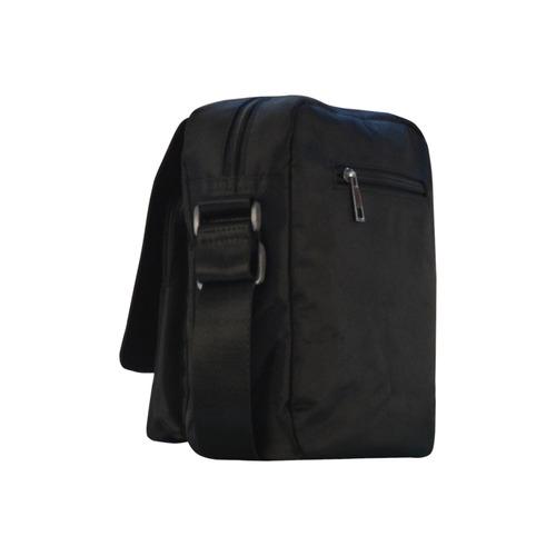 Neon Plaid Modern Design Crossbody Nylon Bags (Model 1633)