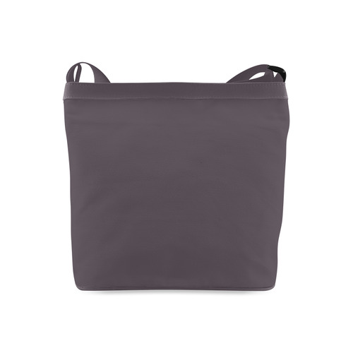 Neon Plaid Modern Design brown Crossbody Bags (Model 1613)