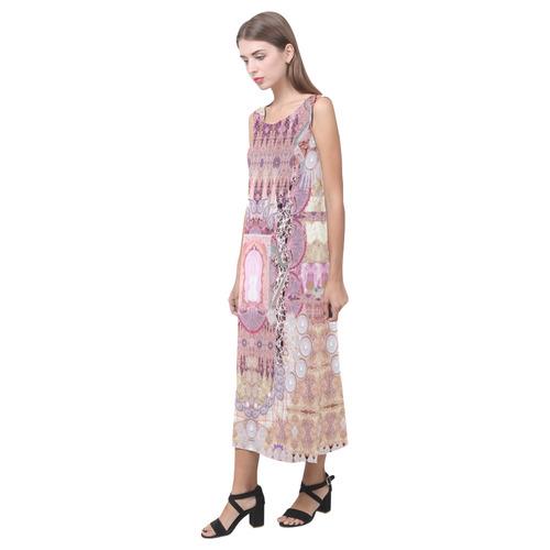 1574 Phaedra Sleeveless Open Fork Long Dress (Model D08)