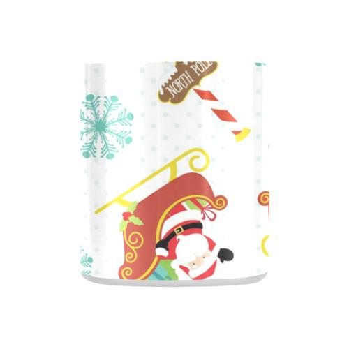 Santa's Sleigh Classic Insulated Mug(10.3OZ)