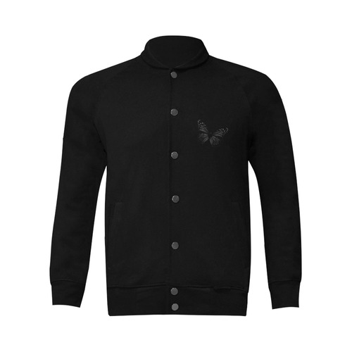 butterfly Men's Baseball jacket (Model H12)
