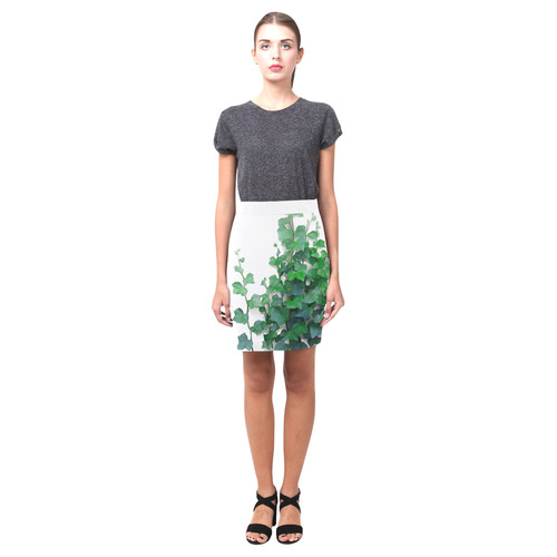 Watercolor Ivy - Vines Nemesis Skirt (Model D02)