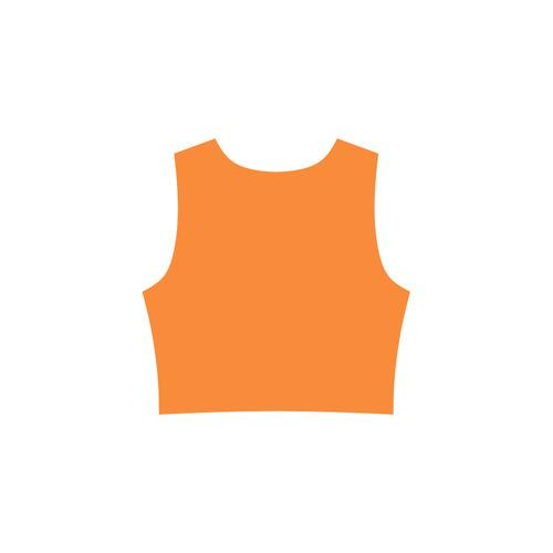 Orange Popsicle Sleeveless Ice Skater Dress (D19)