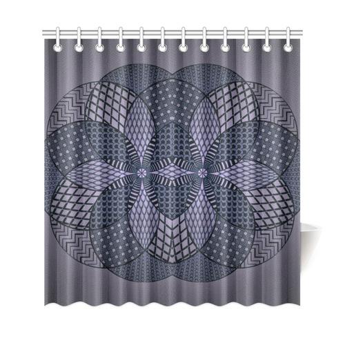 "Beautiful ornament design Shower Curtain 69""x72"""