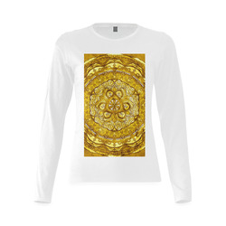 Design your own 3D texture Women s Sunny Long-sleeve T-shirts (T07 ... 4d9f90fa9