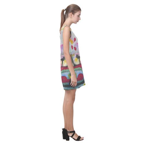 Sxisma Fashion Helen Collection-3 Helen Sleeveless Dress (Model D10)