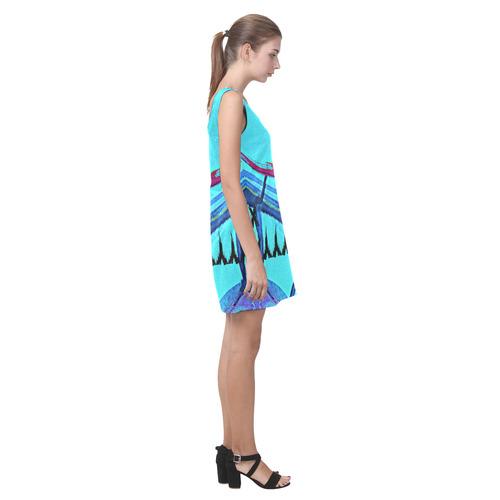 Sxisma Fashion Helen Collection-2 Helen Sleeveless Dress (Model D10)