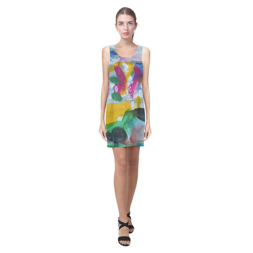Sxisma Fashion Helen Collection-4 Helen Sleeveless Dress (Model D10)
