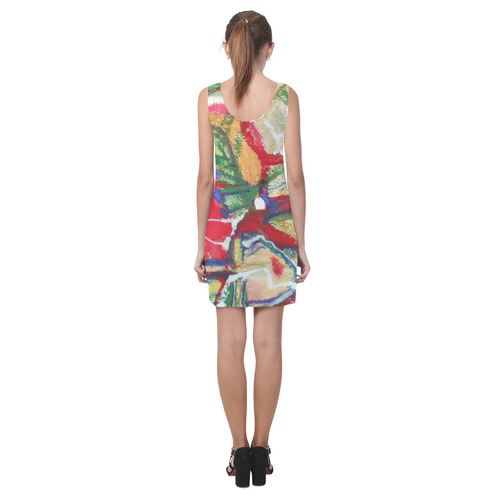 Sxisma Fashion Helen Collection-8 Helen Sleeveless Dress (Model D10)