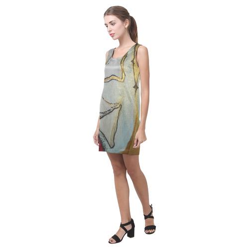 Sxisma Fashion Helen Collection-9 Helen Sleeveless Dress (Model D10)