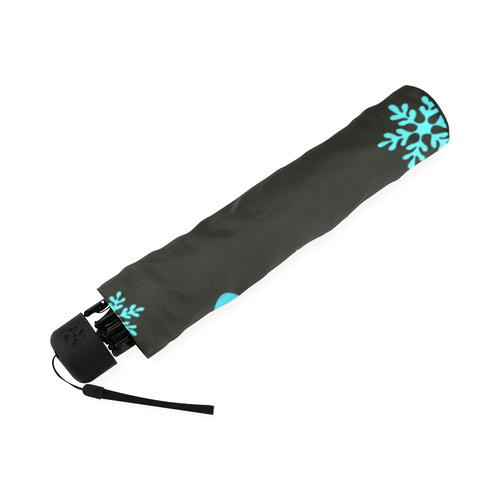 xmas owls_umbrella Foldable Umbrella (Model U01)