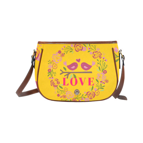 Love Saddle Bag/Large (Model 1649)