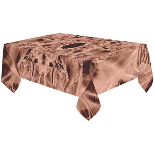 "light 18 Cotton Linen Tablecloth 60""x120"""