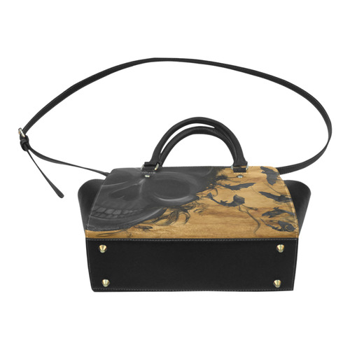 skull-and-Halloween Classic Shoulder Handbag (Model 1653)