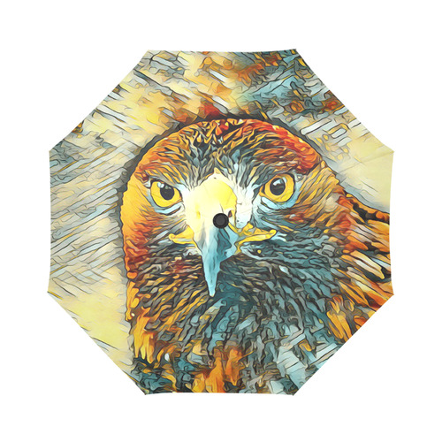 Animal_Art_Eagle20161202_by_JAMColors Auto-Foldable Umbrella (Model U04)
