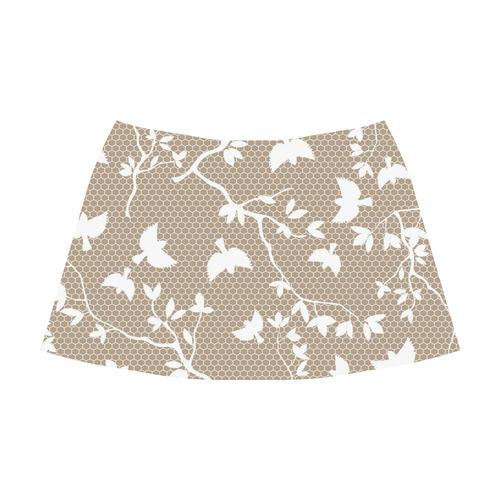 Solid 1 Mnemosyne Women's Crepe Skirt (Model D16)