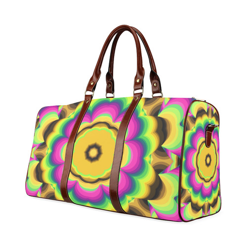kaleidoscope Waterproof Travel Bag/Small (Model 1639)