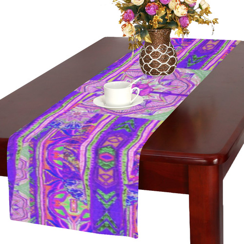 floral 5 Table Runner 16x72 inch