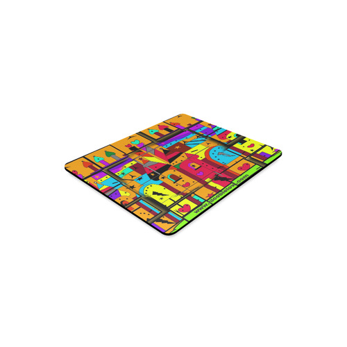 Castle by Nico Bielow Rectangle Mousepad