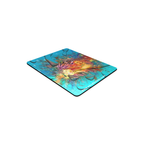 Under Water by Nico Bielow Rectangle Mousepad