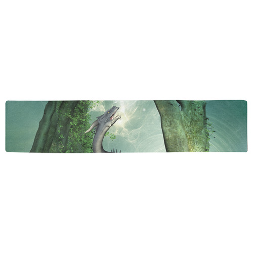 The seadragon Table Runner 16x72 inch